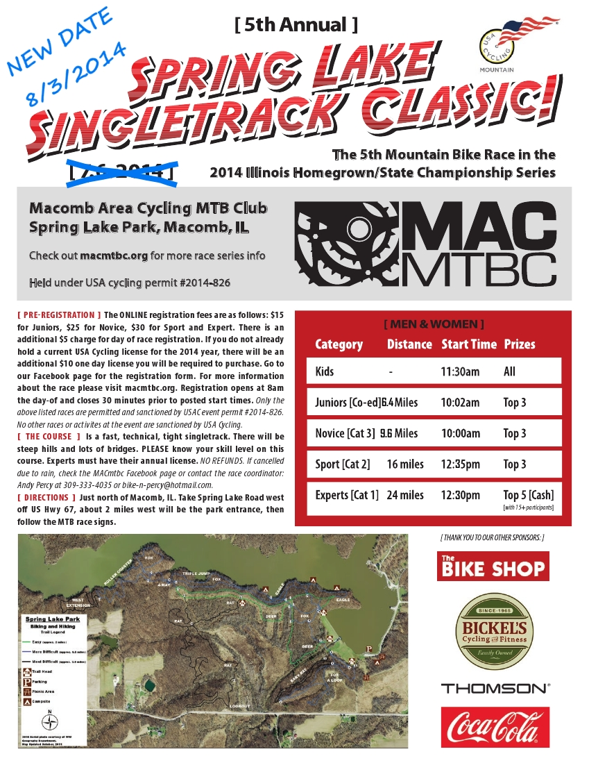 5th Singletrack Classic NewDate